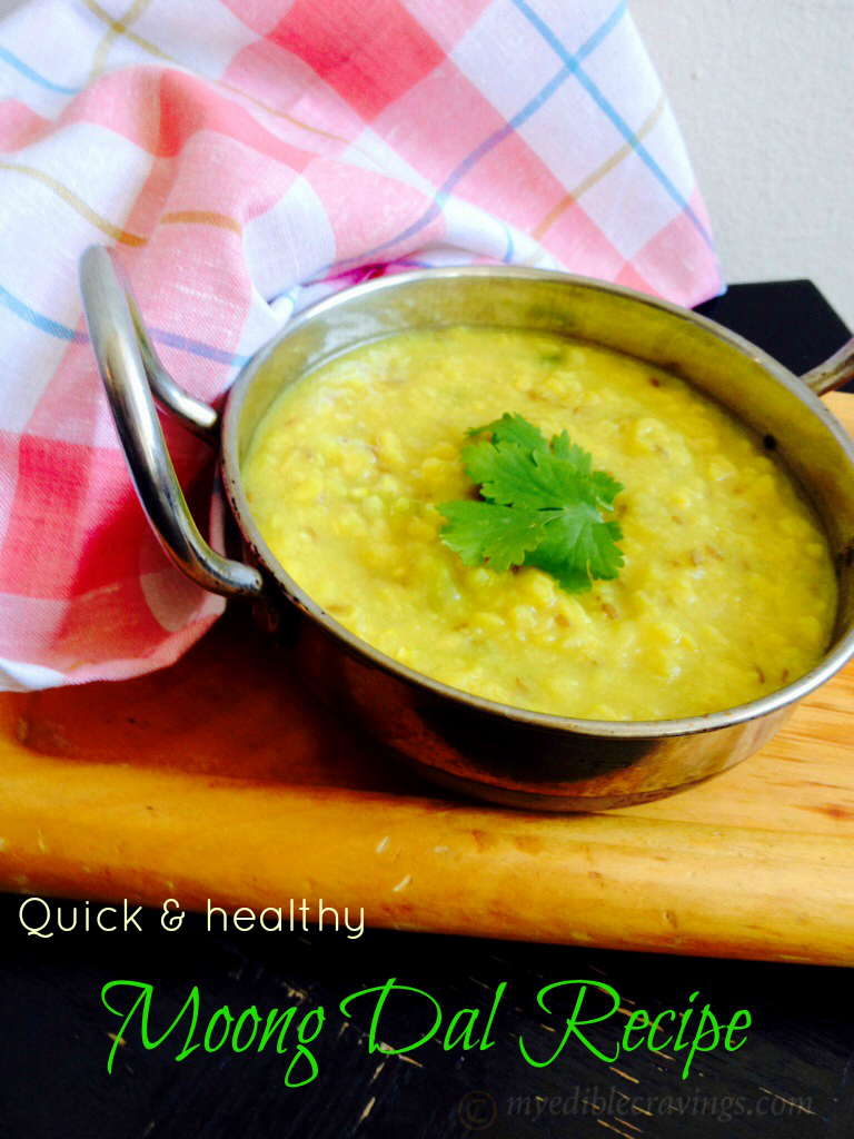 how to make dal moong