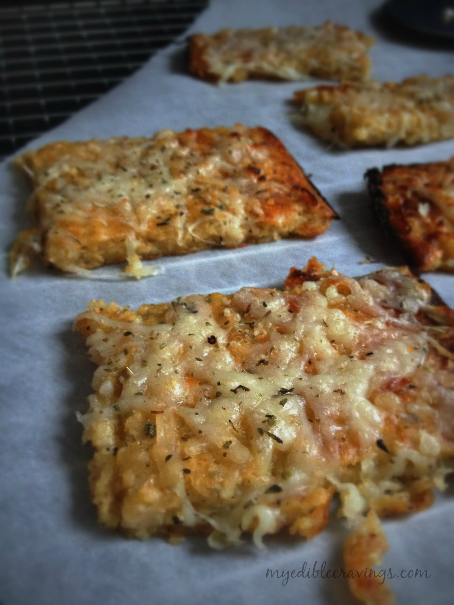 Cauliflower crust bread