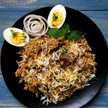 hyderabad dum chicken biriyani